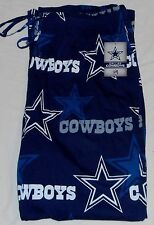DALLAS COWBOYS AUTHENIC APPAREL MENS SLEEP LOUNGE PAJAMA PANTS M L XL 2X BLUE