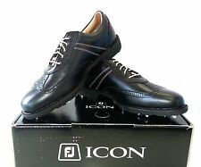 NEW FOOTJOY ICON GOLF SHOES 2014 BLACK – 52276