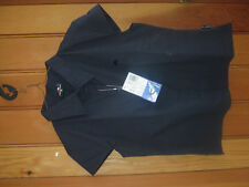 TRESPASS SURF BOULEVARD NAVY SHIRT WALKING TREKKING TOP S M NEW STRETCH COTTON