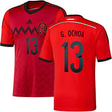 ADIDAS G. OCHOA MEXICO AWAY JERSEY FIFA WORLD CUP BRAZIL 2014.
