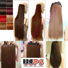 Popular Clip In Remy Human Hair Extensions 3/4 Full Head Cheap Price 1 Piece F12