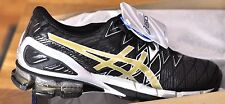 ASICS Men's Gel-Kinsei 5 Running Shoes Black/Gold/Silver Size 10.5 11 11.5 13