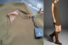 SALE! NWT Leather Shoulders MASSIMO DUTTI casual dress Sizes S-M