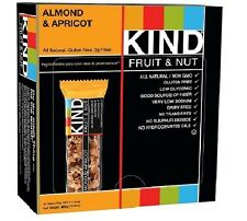 KIND Fruit & Nut, Almond & Apricot, All Natural, Gluten Free Bars(Pack of 12,18)