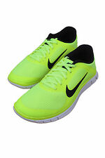 FREE 4.0 V3 VOLT/SUMMIT WHITE/BLACK 579958-701 MEN NIKE