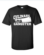 Culinary Gangster Cook Chef Foodie Cooking Adult T-shirt Tshirt Tee ML-229