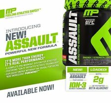 MusclePharm Assault Pre-workout All Flavors & 1, 20, 30 & 50 Servings