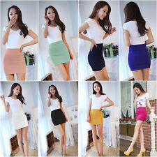 Sexy MINI SKIRT Slim Seamless Stretch Tight Short Fitted Skirt Fashion Women's
