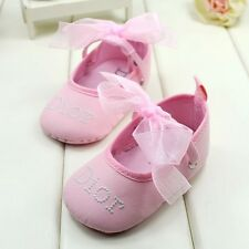 Gorgeous Baby Girls 'Baby Dior'  Baby Pink Ballet Summer Shoes