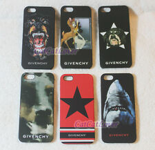 iPhone 5/5s Matte Givenchy Bambi inferno evil black hard extra thin case cover