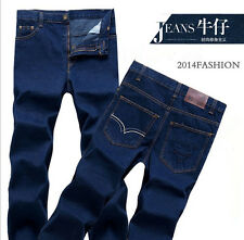 2014 men Business wild autumn and winter thickening waist casual jeans C29
