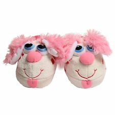 Stompeez Perky Pink Puppy Slippers Small Medium Large FREE SHIPPING BNIB