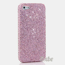 iPhone 6 6S / 6S Plus 5S Bling Crystals Case Cover Baby Pink Design