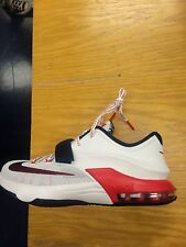 "Nike KD 7 VII ""USA"" Independence Day Youth Kids GS PS TD Sz:5C-7Y Red/White/Blue"