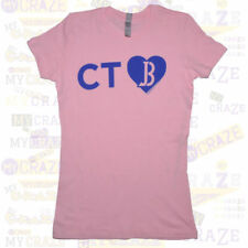 JUSTIN BIEBER Tour USA State Love Juniors CT Connecticut T-Shirt