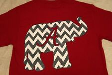 ALABAMA CHEVRON T'SHIRT crimson NEW LICENSED ROLL TIDE