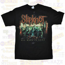 SLIPKNOT Heavy Metal Rock Official Merchandise Black Cotton T-Shirt