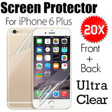 Best Apple Ultra Clear Flim Front and Back For iPhone 6 Plus Screen Protector