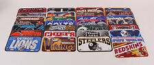 NFL Football Graphic Plastic License Plate League Wincraft Sports Fan Gift