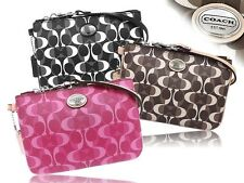 COACH    Peyton Dream C Print Coated Canvas Small Wristlet 50523 / 50108    NWT!