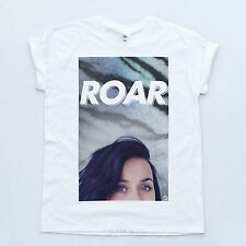 Katy Perry New T-shirt Hear Me Roar Prism Pop Album Fresh 2013 Dope Tiger Tee