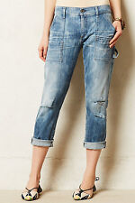 NEW 29 Anthropologie Citizens of Humanity Leah Jeans $218 Distressed USA NIP