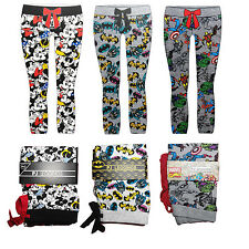 Ladies Womens Marvel Batman Disney Lounge Pajama PJ leggings Primark 6-20