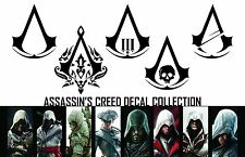 Assassin's Creed - Xbox/Playstation Vinyl Decal/Sticker Collection