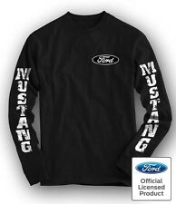 Shelby Ford Mustang Cobra Long Sleeve T Shirt Official FMC Licensed Size S - 4XL