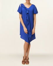 PHASE EIGHT Anya frill dress size 10 12 14 relaxed fit