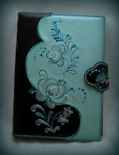 Leather Filofax Cover /Refillable Journal/ Day Planners/ Organizers /Ring Binder