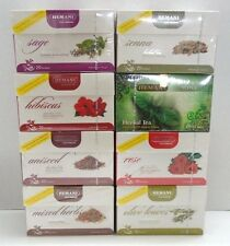 Hemani Live Natural Herbal Tea (20 Tea Bags) Available in 8 Flavors USA SELLER