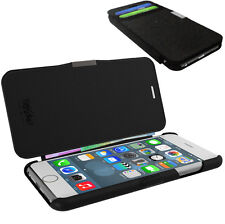 """Mossimo Black Genuine Leather Wallet Case/Cash/card holder/ for iPhone 6 4.7"""""""