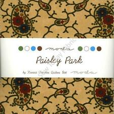Paisley Park Charm Pack by Moda, 42 5-inch Precut Cotton Fabric Squares 9450PP