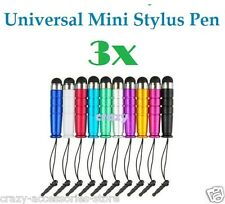 3X Universal Capacitive Touch Screen Mini Stylus Pen For iPhone iPad Note Tab