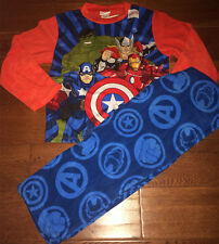 Marvel Avengers Hulk Captain America Iron Man Thor Boy Child Sleepwear Age 4-10