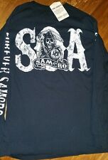 SOA Sons of Anarchy Authentic Longsleeve FOREVER SAMCRO ORIGINAL SAMCRO