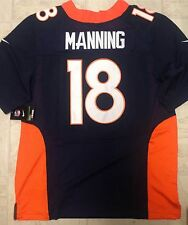 Peyton Manning Denver Broncos Blue Jersey.Stitched Letters & Numbers size M,L,XL