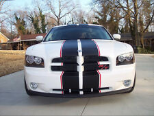 "All Year Dodge Charger Avenger 2 color 10"" Twin Rally stripes Stripe Graphics"