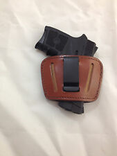 Leather Concealment Gun Holster - S&W BODYGUARD 380 with or  w/o Laser  (#036)