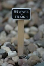 Trackside sign for G scale LGB SM32 16mm choose from 6 different designs