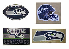 Seattle Seahawks Decal Sticker NFL Football Licensed - Choose You Item