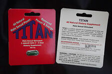 TITAN-PENIS ENLARGEMENT-MALE ENHANCEMENT-HARD AND STIFF DAYS & NIGHTS-SEXUALITY