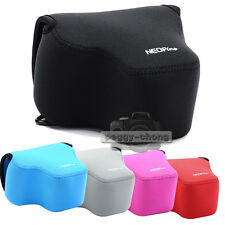 Colors Neoprene Soft Camera Protective Case Bag Pouch Cover For Panasonic FZ1000