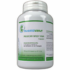 Mexican Wild Yam Capsules - 240 Capsules - 3x Sell = 20% Discount - Diosgenin