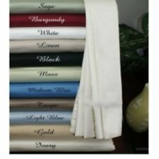 New Hotel Quality 3 Pcs Fitted sheet set 1000Tc100%Organic Egyptian Cotton SOLID