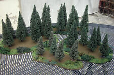 Movable Wargaming Scenery/Terrain - Stands of Trees - Tiny, S, M, L, XL, Corner