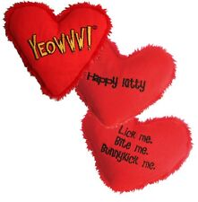 Yeowww! 100% Organic Catnip Toy, Heart Attacks - Catnip Filled Heart (Sold Each