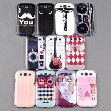 New Cute Owl Bear Bra Designs Hard Case Cover Back f Samsung Galaxy S3 i9300