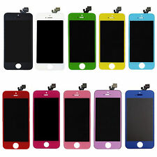 For iPhone 5 Touch Screen Glass Digitizer LCD Display Replacement Part 10 Colors